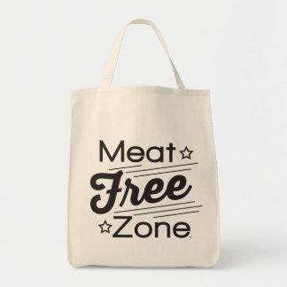 肉自由地帯の食料雑貨の戦闘状況表示板 トートバッグ