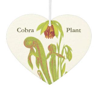 肉食性のコブラの嚢状葉植物 カーエアーフレッシュナー