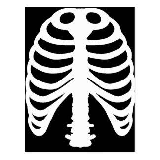 肋骨 ポストカード