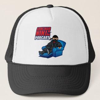 肘掛け椅子の忍者のポッドキャストの帽子 キャップ