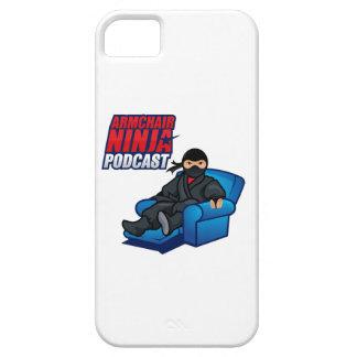 肘掛け椅子の忍者やっとそこにQPCカバー iPhone SE/5/5s ケース