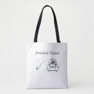 肘掛け椅子旅行 トートバッグ