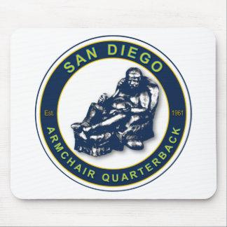 肘掛け椅子QB -サンディエゴ マウスパッド