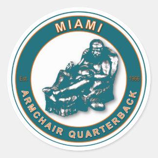 肘掛け椅子QB -マイアミ ラウンドシール