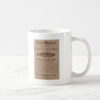 肝油 コーヒーマグカップ