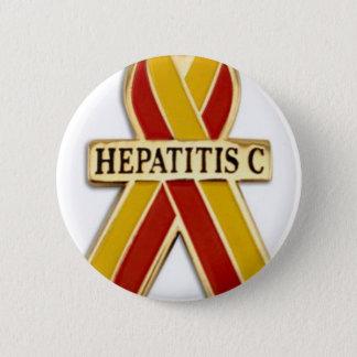 肝炎のリボンプロダクト 5.7CM 丸型バッジ
