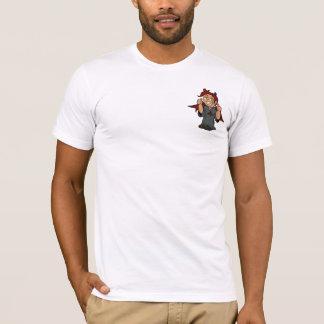 肩の悪魔のTシャツ Tシャツ