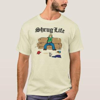 肩をすくめるしぐさの生命 Tシャツ