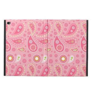 肯定的にピンクのPaisely Powis iPad Air 2 ケース