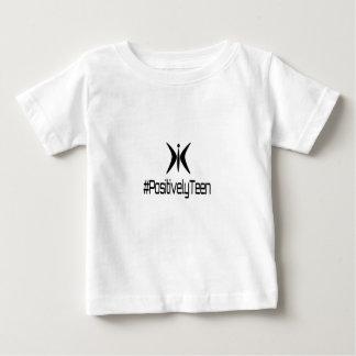 肯定的に10代のなブランド ベビーTシャツ