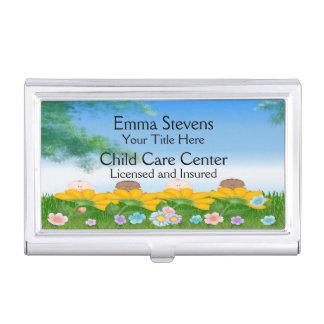 育児の赤ん坊によっては名刺入れが開花します 名刺入れ