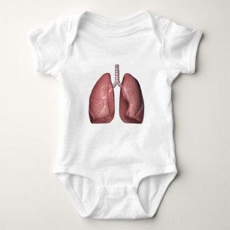 肺 ベビーボディスーツ