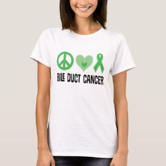 胆管蟹座のリボンの女性Tシャツ Tシャツ