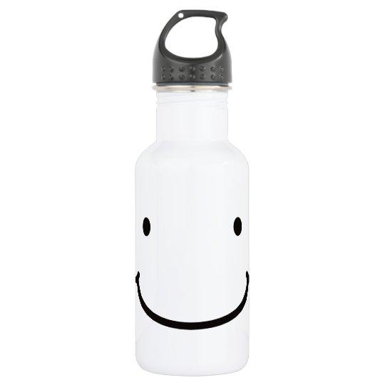【背中にジッパー君】 Mr. Zipper on the back ウォーターボトル