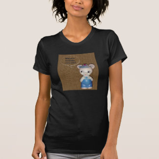 背景が付いているBuzzin CuzzinくまのTシャツはである何 Tシャツ