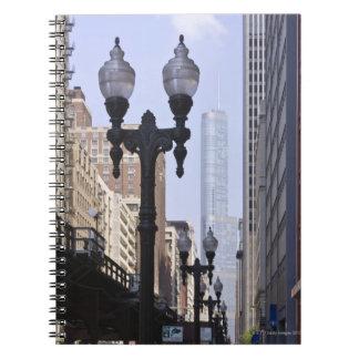 背景の切札タワー ノートブック