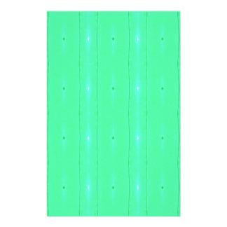 背景の蛍光緑パターンをカスタマイズ 便箋