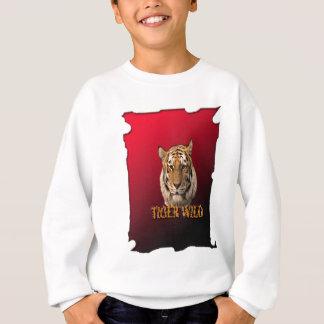 背景を持つOf Jungleトラ王 スウェットシャツ