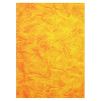 背景文書の質-オレンジ黄色 テーブルクロス