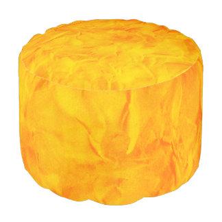 背景文書の質-オレンジ黄色 プーフ
