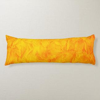 背景文書の質-オレンジ黄色 ボディピロー