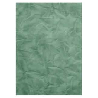 背景文書の質-汚れた緑 テーブルクロス