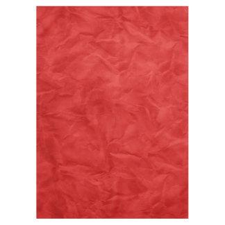 背景文書の質-汚れた赤 テーブルクロス