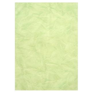 背景文書の質-緑 テーブルクロス