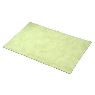 背景文書の質-緑 ランチョンマット
