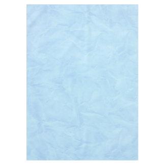 背景文書の質-青 テーブルクロス