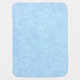 背景文書の質-青 ベビー ブランケット