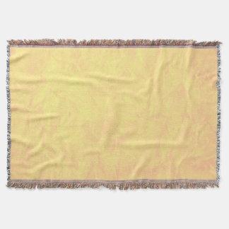 背景文書の質-黄色 スローブランケット