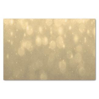 背景-金ゴールドの《写真》ぼけ味のグリッターライト 薄葉紙
