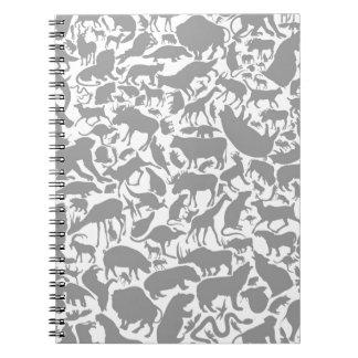 背景animals2 ノートブック