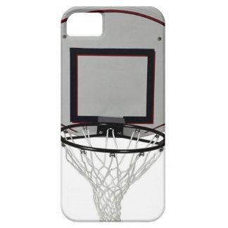 背板が付いているバスケットボールたが iPhone SE/5/5s ケース