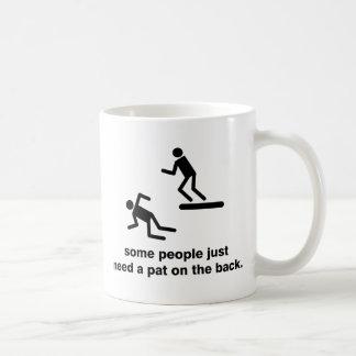 背部のPat コーヒーマグカップ