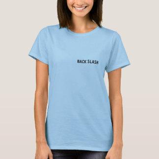 背部スラッシュ Tシャツ