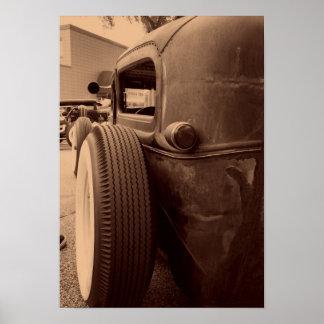 背部タイヤ ポスター
