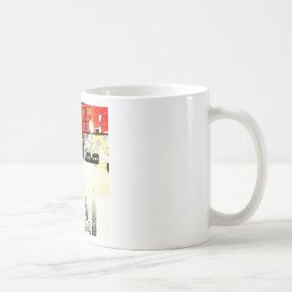 背部同盟国 コーヒーマグカップ