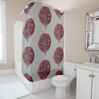 胎盤! シャワー・カーテン-誕生の中心、助産婦 シャワーカーテン