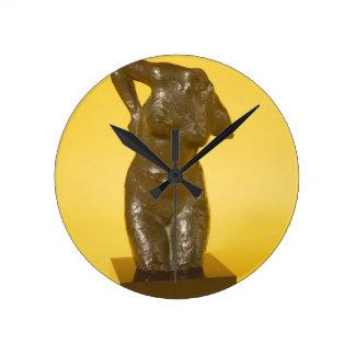胴(青銅) ラウンド壁時計