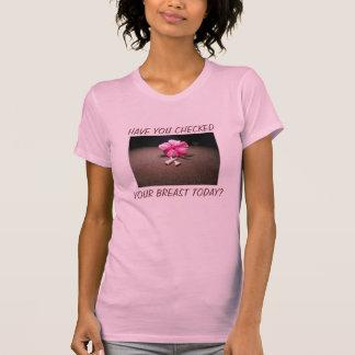 胸の点検 Tシャツ