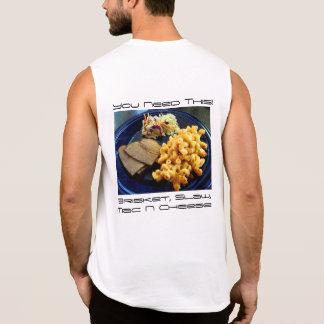 胸肉Slaw Mac 袖なしシャツ