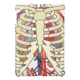 胸郭は大きいハートを張りめぐらします iPad MINIケース