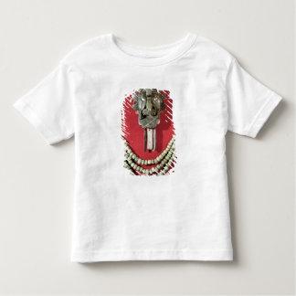 胸Zapotecマスクの表現の型枠 トドラーTシャツ