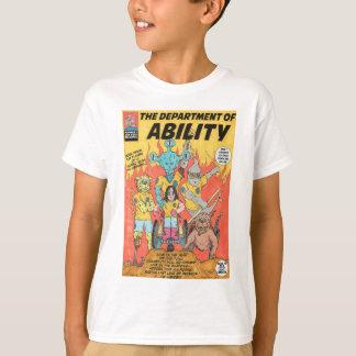 能力の部門は英雄のTシャツをからかいます Tシャツ