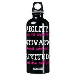 能力、刺激、態度 ウォーターボトル