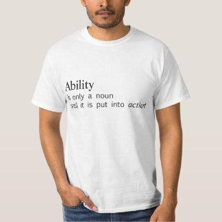 能力 Tシャツ
