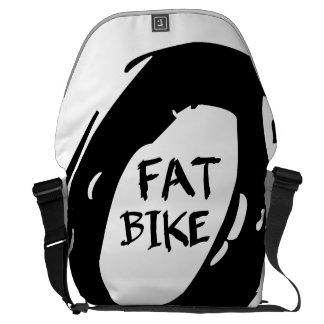 脂肪質のバイク クーリエバッグ