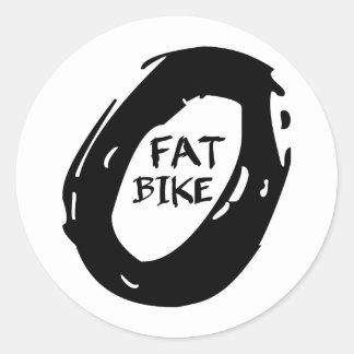 脂肪質のバイク ラウンドシール